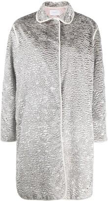Giambattista Valli Metallic Textured Coat