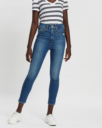 Gap Sky High True Skinny Ankle Jeans