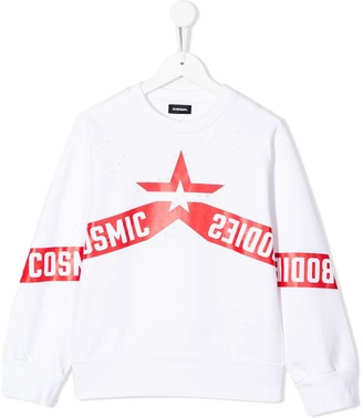 Diesel Cosmic Bodies crew-neck sweatshirt