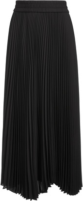 Alice + Olivia Iva Pleated Midi Skirt
