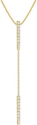 Ariana Rabbani 14K 0.10 Ct. Tw. Diamond Lariat Necklace