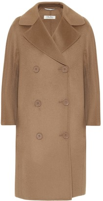 S Max Mara Anita wool and cashmere coat