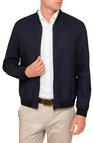 HUGO BOSS Poly/Nylon Zip Bomber Jacket