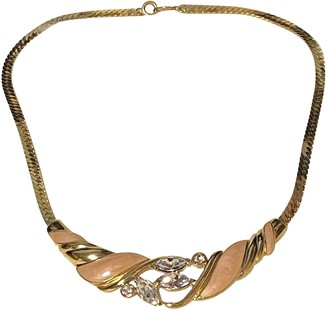 Trifari Gold Metal Necklaces