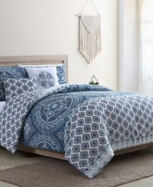 Vcny Home Sullivan 5PC Full/Queen Quilt Set