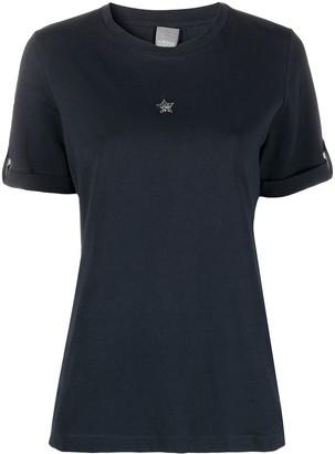 Lorena Antoniazzi star embroidered crew-neck T-shirt