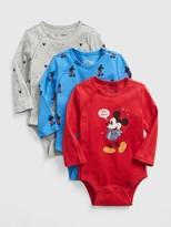 Gap babyGap   Disney Mickey Mouse Bodysuit (3-Pack)