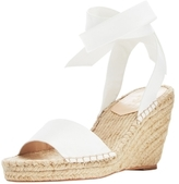 Loeffler Randall Harper Leather Espadrille Wedge