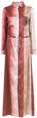 AMIR SLAMA Silk Beach Dress