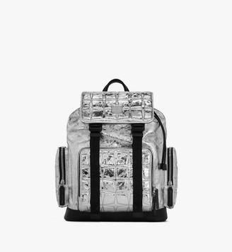 MCM Brandenburg Backpack in Quilted Diamond Leather