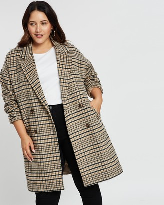 Atmos & Here Cara Wool Blend Coat