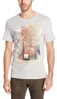 Buffalo David Bitton Men's Nibour Short Sleeve Crew Neck Tee Shirt