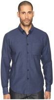 Naked & Famous Denim Soft Yarn-Dyed Twill Button Down Men's Clothing