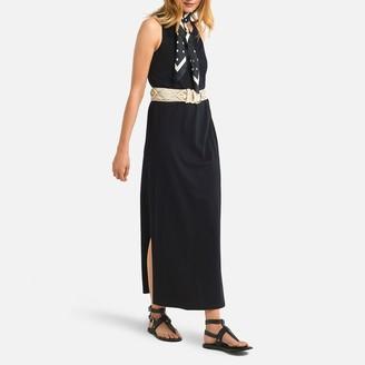 La Redoute Collections Cotton Sleeveless Maxi Dress