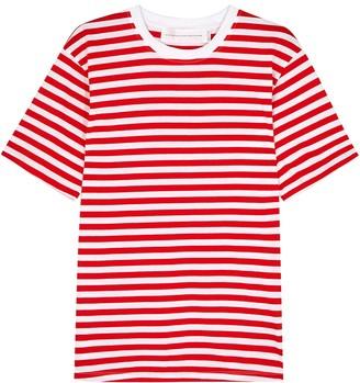 Victoria Victoria Beckham Victoria, Victoria Beckham Striped Cotton T-shirt