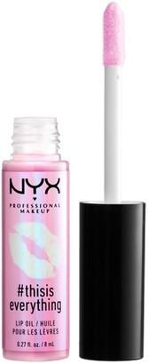 NYX #Thisiseverything Lip Oil 8Ml Sheer Blush