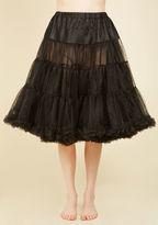 Hell Bunny Va Va Voluminous Petticoat in Black - Long in 1