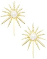 Kendra Scott Sayers Statement Earrings in Gold
