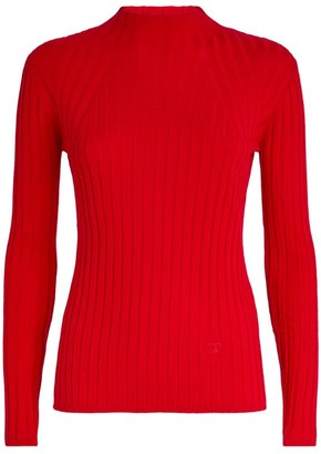 Claudie Pierlot Ribbed Sweater