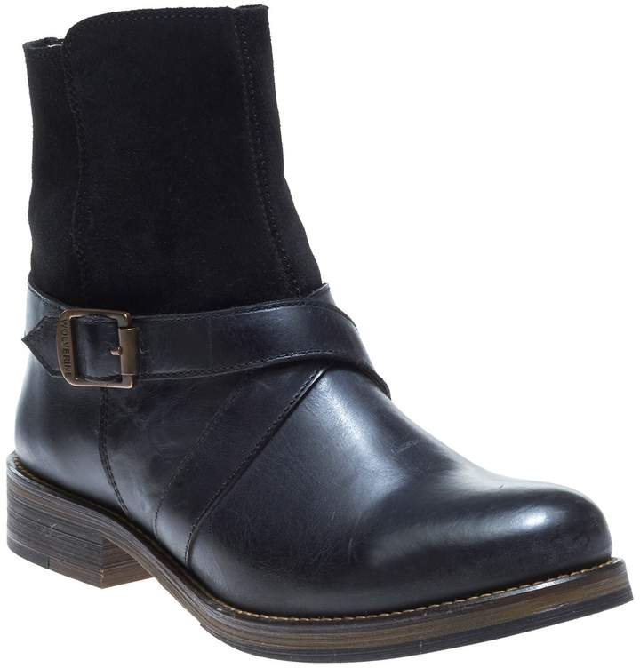 Wolverine Pearl Leather & Suede Boot