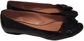 Max Mara Black Patent leather Flats