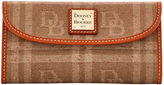 Dooney & Bourke DB Plaid Jacquard Continental Clutch