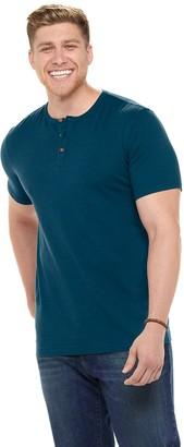 Sonoma Goods For Life Big & Tall Short Sleeve Henley