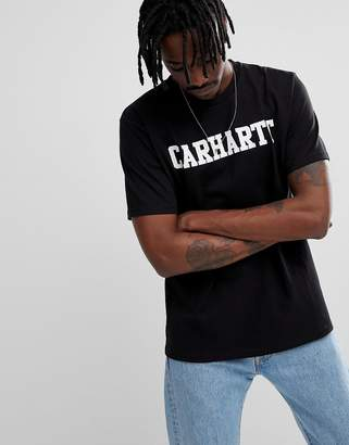 Carhartt Wip WIP College t-shirt in black