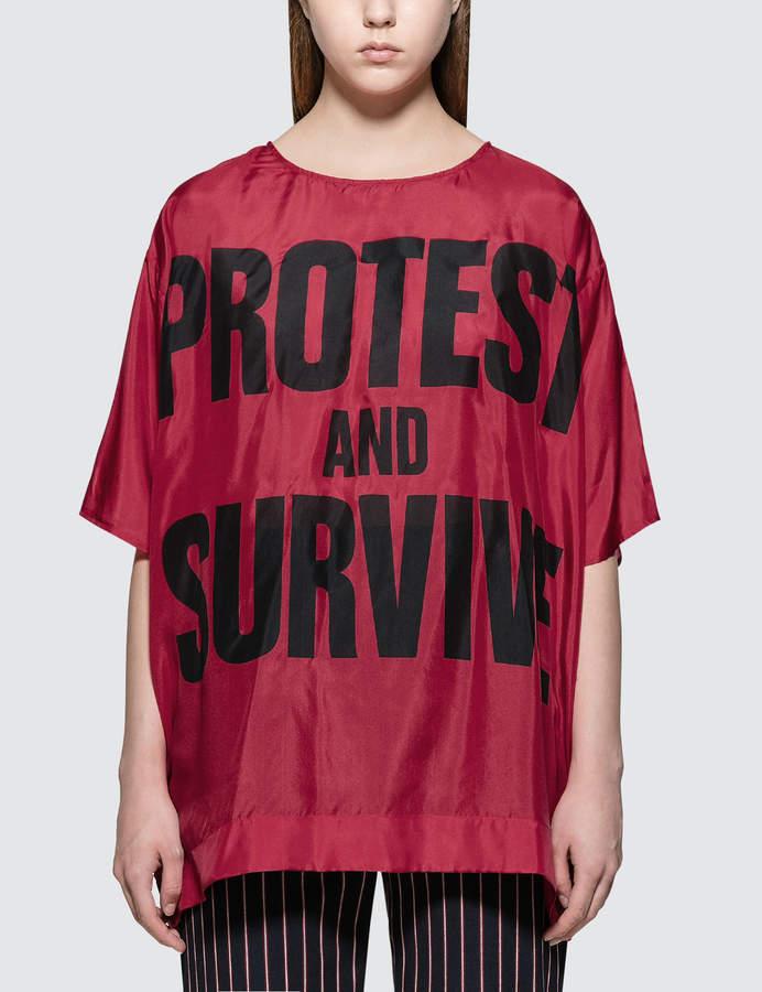 Katharine Hamnett Maggie Silk S/S T-Shirt