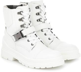 Bogner St Moritz leather ankle boots
