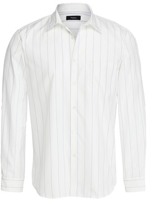 Theory Noll T Polmo Stripe Shirt
