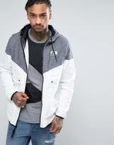 Nike International Wind Breaker Jacket In White 831130-011
