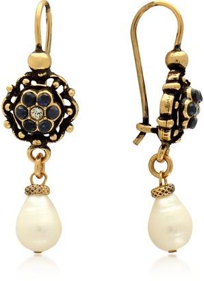 Alcozer & J Rosetta Earrings