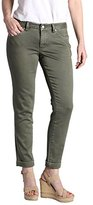 Jag Jeans Women's Erin Knit Denim Cuffed Ankle Pant
