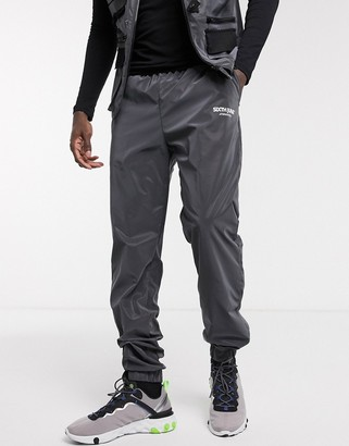 Sixth June reflective joggers in oil slick