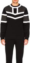 Neil Barrett Tri Color Sweatshirt