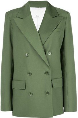 Tibi Cut Out Blazer