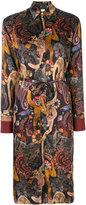 Paul Smith monkey print dress - women - Silk/Polyamide/Acetate/Viscose - 38