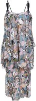 Maiyet 'Wave Tier Slip' dress - women - Silk - 10