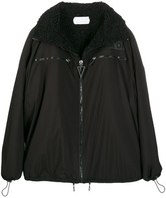 NO KA 'OI Fleece-Lined Oversized Jacket