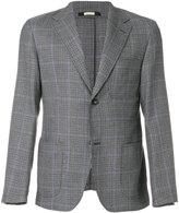 Massimo Alba notched lapel houndstooth blazer - men - Viscose/Wool - 46