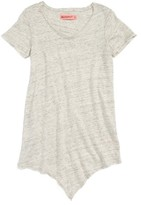 Blank NYC Girl's Blanknyc Knot Front Linen Top