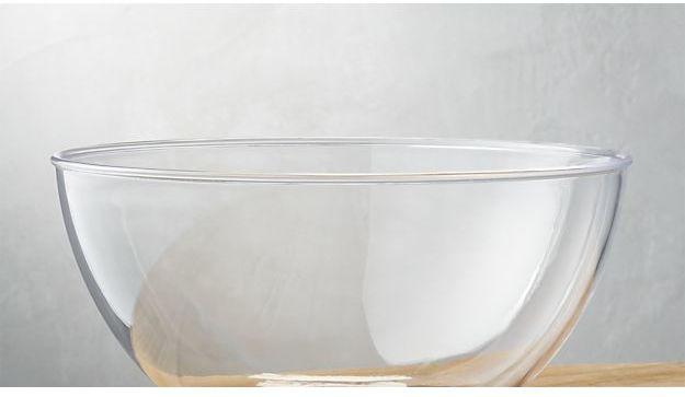 Crate & Barrel Zealous Acrylic Bowl