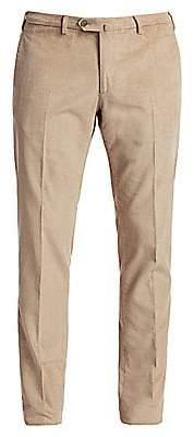 Loro Piana Men's Slim-Fit Cotton & Cashmere Corduroy Trousers