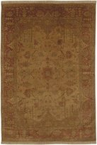 Surya IT1181 Adana Classic Hand Knotted 100% Semi-Worsted New Zealand Wool Red Rug (2-Feet 6-Inch x 8-Feet )