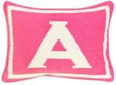 """Jonathan Adler Baby Girl Letter Decorative Pillow, 12"""" x 9"""""""
