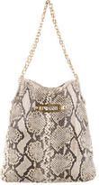Jimmy Choo Snakeskin Shoulder Bag