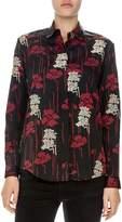 The Kooples Poppy Print Shirt