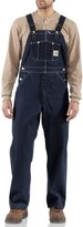 Carhartt Denim Bib Overalls - Unlined, Factory Seconds (For Big and Tall Men)