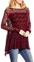 Jessica Simpson Darlanne Open-Knit Sweater